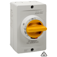 With NHPs DC Isolators you are compliant T